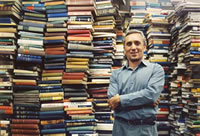 Ken Gloss Renowned Rare Book Expert, Proprietor Brattle Book Shop, Boston MA